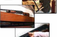 Bed-Mounted Shotgun Rack