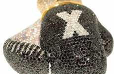 Diamond Boxing Gloves - TKO Luxury Style