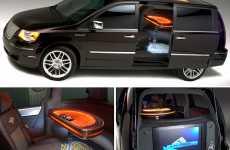 Casino Themed Chrysler Minivan