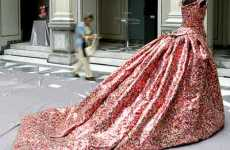 Fashion from Cans - Eco Collection by Nikos Floros Used 20,000 Cans