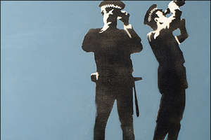 Banksy Originals Sold for £546,000