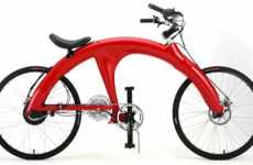 Human-Electric Hybrid Bike - Electrobike Model Pi