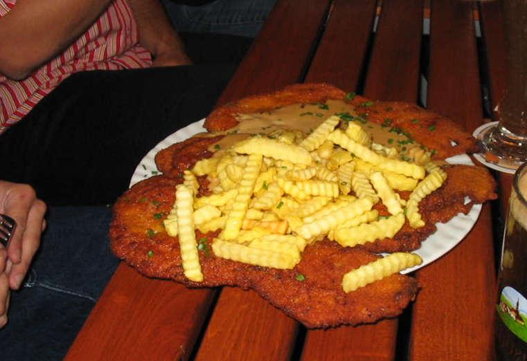 Jumbo-Sized Schnitzel & Burgers