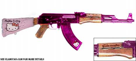 Guns Get Girlie - The Hello Kitty Gun