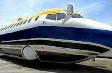 Jet Limo Crashes Onto eBay - Boeing 727 on a Mercedes Bus