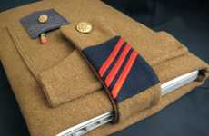 Combat-Ready Gadget Cases - Blythe King's Military Uniform Cases Rank Up Your iPhone