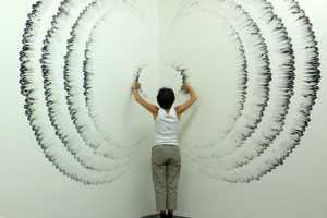 Judith Braun Creates Beautiful Art With Her Fingers