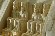 White Chocolate Statues