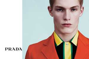 The Prada Menswear Spring Summer 2011 Line is Bright & Colorful