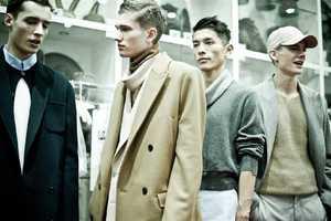 The ACNE Menswear AW11 Collection is Military Rigor Meets Boyish Charm