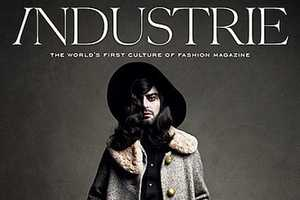 Marc Jacobs Dons Women's Clothes for Industrie Magazine