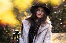 Chic Countryside Shoots - The Michelle McCallum Grazia Magazine Spread Relaxes in Upscale Looks