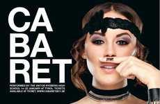 Hitler-Esque Burlesque Ads