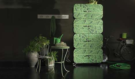 Leafy Lockers - The Ideal Form Team Makes Modern Shelving for Stylish & Practical Spaces