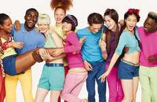 Cheerful Group Fashions - The United Colors of Benetton SS11 Campaign is Bold and Bright