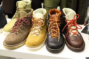 The Diemme Wingtip Mountain Boots are Fit for Classy Hikers