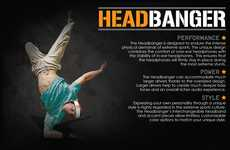 Sweatband Headphones - The Benjamin Lotte Headbanger Keeps Your Head in the Music