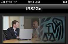 Tax-Paying Apps - The IRS2Go iPhone App Lets You Track Your Tax Refunds