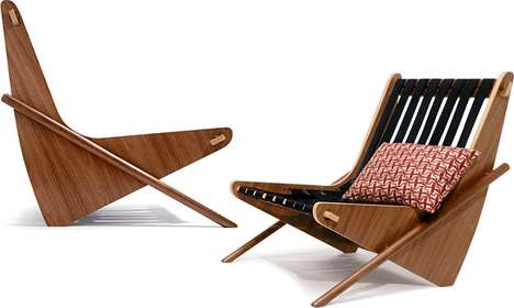 Neutra Boomerang Chair
