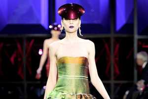 The Armani Prive Spring 2011 Line Brings Bright and Bold Outfits