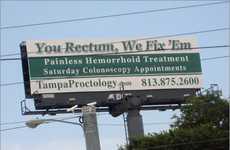 Punny Rectal Ads