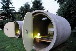 Das Park Hotel Creates Rooms Out of Sewer Pipes