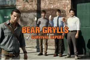 This Bear Grylls Degree Commercial Uses Deodorant to Fend Off Wolves