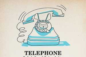 Andrew Kolb Makes a Vintage Poster for Lady Gaga's Telephone