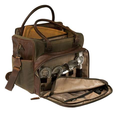 Convenient Alcoholic Carriers - Mix Drinks Wherever You Go With the Meehan Utility Bag