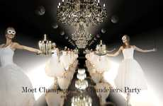 Charitable Champagne Galas - The Moet Chandeliers Ball is a Lavish Access Agency Production