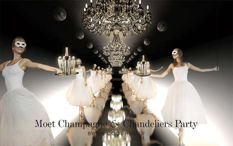 Moet Chandeliers Ball