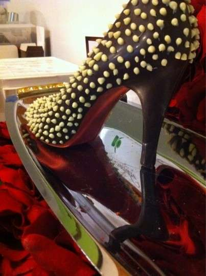 Chocolate Louboutin Shoes