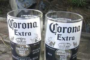 Bottlehood Recycles Wine, Beer and Liquor Bottles into Glass Cups