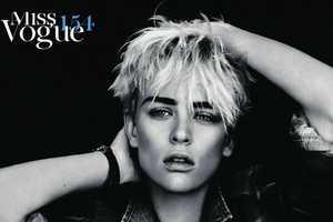 Femininity Gets Masculine for Vogue Paris February 2011