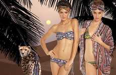 Tropical Tribal Swimwear