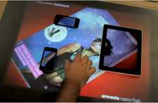 Interactive Tech Tables - Amnesia Razorfish Connect Allows Seamless Media Sharing