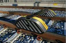 Railway-Monitoring Robots - The Regimantas Vegele Railroad Probe Tests Track Integrity