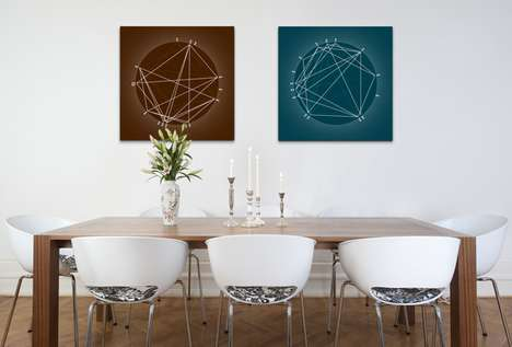 Personalized Astrology Artworks - The StarArc Turns Planet Charts to Visual Prints