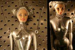Andrea Cucchi Revamps Barbie Dolls in Peculiar Ways