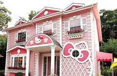 Pop Culture Toon Hotels - The Hello Kitty Villa is an Over-Indulgence of the Asian Character