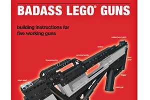 Xubor's Badass LEGO Guns Make a Child's Toy a Little Dangerous