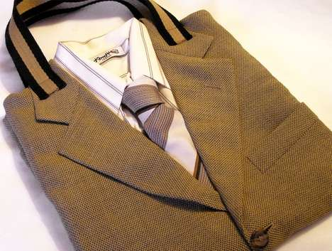 Tailor Upcycled Suit Tote