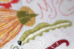 Jillian Tamaki Illustrates Creatures on Comfy Blankets