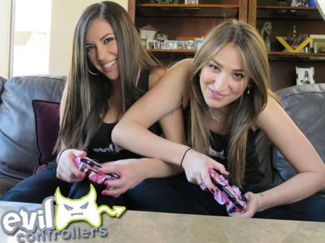 Girly Gamer Gadgets - The Evil Controllers Pink Camo Controller Recognizes the Ladies