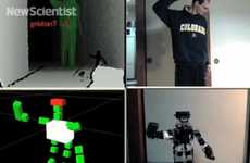 Hacked Kinect Robots