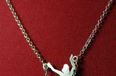 Swinging Jewelry - The Latest Edition to the Marie Khediguian Pin-Up Necklace Series