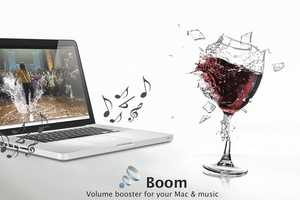 The Global Delight 'Boom Volume Booster' Lets Macs Rock