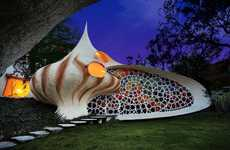 Snail-Shaped Residences