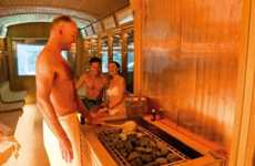 Streetcar Saunas - The Spa Tram Shows the Relaxing Side of Public Transportation