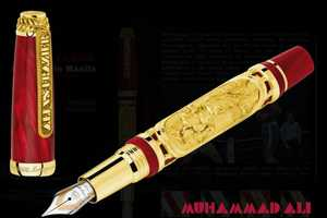 Montegrappa Releases a Luxury Pen to Honor Muhammad Ali